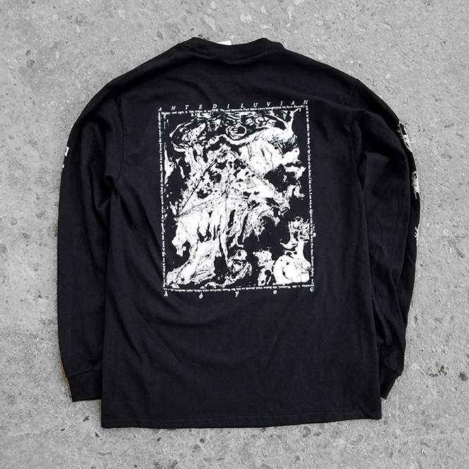 ANTEDILUVIAN — FIRE PYRAMID LONG SLEEVE