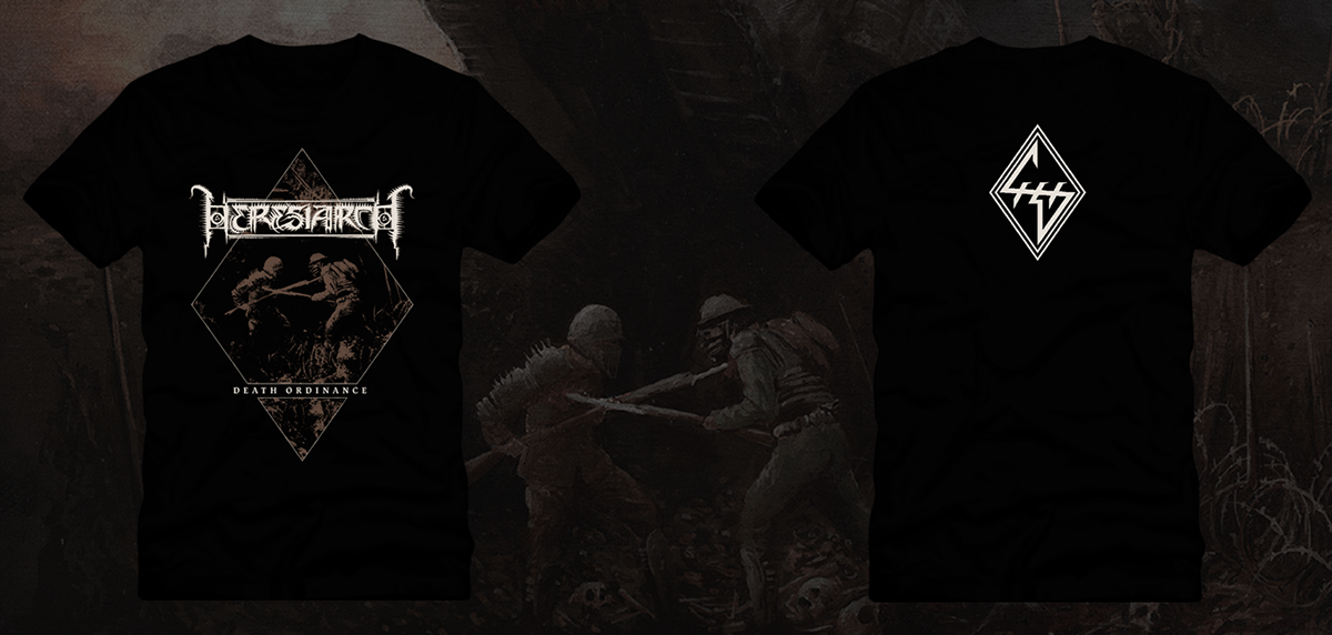 HERESIARCH — RUINATION T-SHIRT